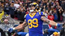 Tyler Higbee eager to show his value at tight end for the Rams