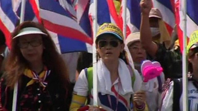 Protesters occupy Thai Ministry
