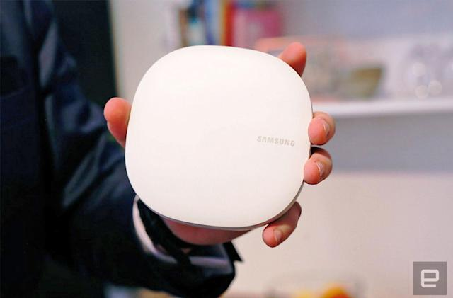 Samsung's mesh WiFi system connects your smart home this July