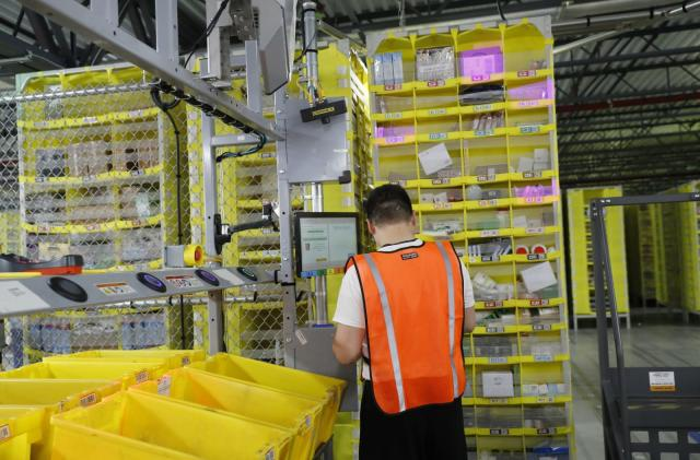 Amazon warehouse injury numbers highlight pressure on workers