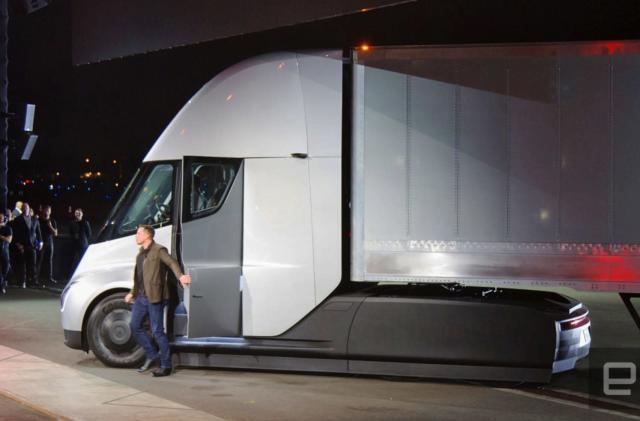 Tesla's Semi truck is traveling cross-country 'alone'