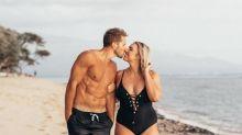 Modelo curvilínea responde criticas por ter marido musculoso