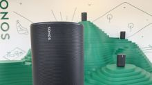 The Sonos Move is the company's first portable speaker, costs $399