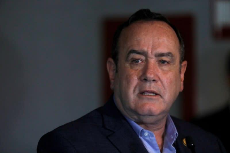 Guatemala's new president takes office under U.S. pressure on asylum