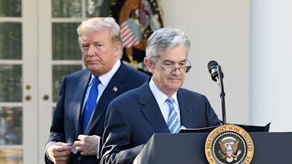 Trump says he 'maybe' regrets picking Powell
