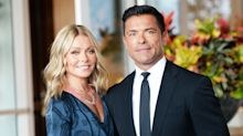 Kelly Ripa shares family Christmas card featuring Mark Consuelos' Riverdale wife and daughter