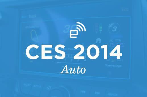 CES 2014: Auto roundup