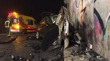 Un kamikaze provoca un accidente en M-50 y fallece el otro conductor por el impacto