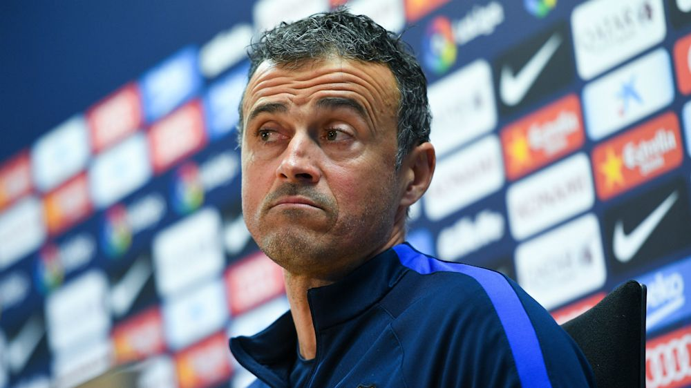 Luis Enrique anticipating tough test for Barcelona at Las Palmas