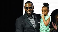 Dad shamers are attacking this really cute video of LeBron James and his daughter singing 'Frozen' songs. Can you see why?