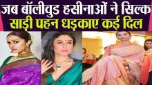 Bollywood Actresses In Silk Saree Look