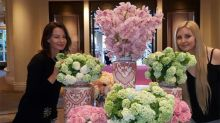 Amanda Bynes Resurfaces, Poses in Smiling Flower Pic!