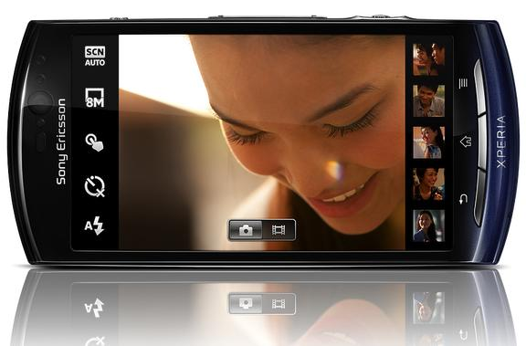 The Sony Ericsson Xperia Neo