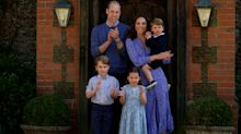Prince George and Princess Charlotte join Prince William in family volunteering effort in new photo