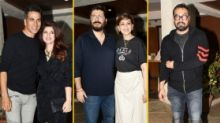 Pics: Akshay-Twinkle, Anurag Party With Sonali Bendre, Goldie Behl