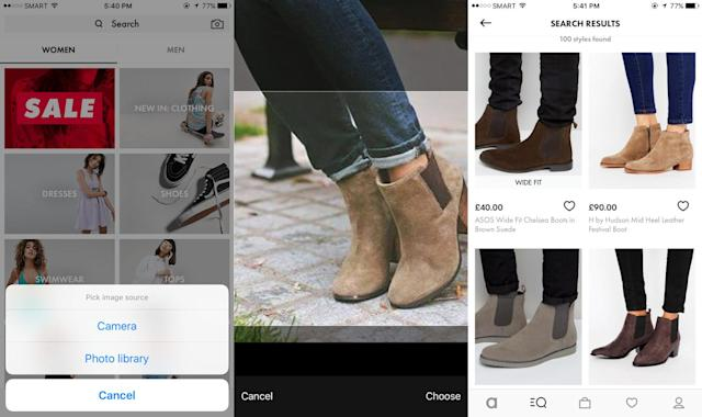 ASOS' visual search tool is now available to all of its shoppers