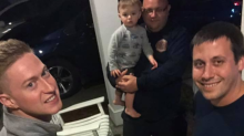 Firefighters step in to babysit children after family medical emergency: 'Sometimes we do what needs to be done'