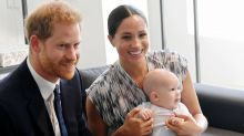 Prince Harry sends good luck photo of Archie in Red Rose jersey to England rugby team
