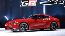 Supercharged cars at Detroit auto show