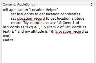 How to use TextExpander to grab your location and enter it into a document