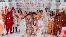 Casal Gay indiano viraliza com fotos de casamento tradicional
