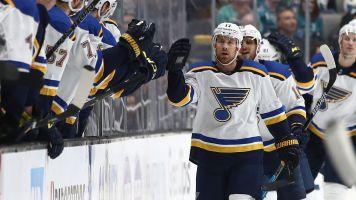 NHL Playoffs 2019: Blues' Jaden Schwartz posts second hat trick of postseason in Game 5 blowout