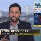 Roku plunges after providing a weak sales forecast