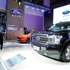 Ford's quarterly China sales rise for the first time in 3 years
