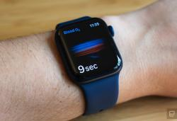 Apple begins studying whether the Watch can predict COVID-19