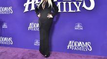 Christina Aguilera, una Morticia inesperada en el estreno de 'La familia Addams'