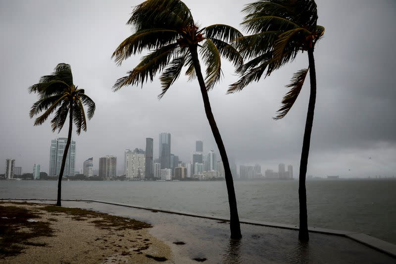 Storm Eta floods parts of South Florida as it churns over Gulf of Mexico