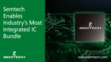 Semtech Enables Industry's Most Integrated and Lowest Power IC Bundle for Data Center and Wireless Applications