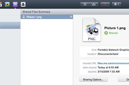 Mobile Me debuts large file sharing with iDisk