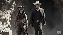 "Johnny Depp's Nearly Naked ""Lone Ranger"" Costume"