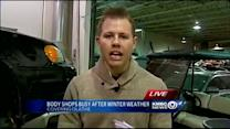 Winter weather boosts body shop business