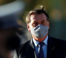 Brazil's Bolsonaro says lungs 'clean' after coronavirus test