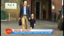 Royal family not telling Prince George he'll be king
