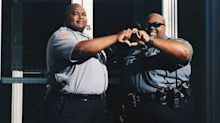 These campus cops posed for a photo shoot like sorority sisters, and it's hilarious