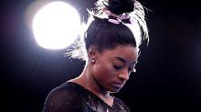 UPDATE 1-Athleta, sponsor of U.S. Olympic gymnast Simone Biles, says it stands by her