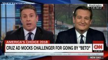 CNN host calls out Ted Cruz for name-calling jingle: 'Your name is Rafael'