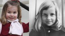 Princess Charlotte resembles Princess Diana