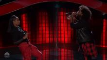 'The Voice': Jennifer Hudson reprises Whitney Houston tribute with Davon Fleming