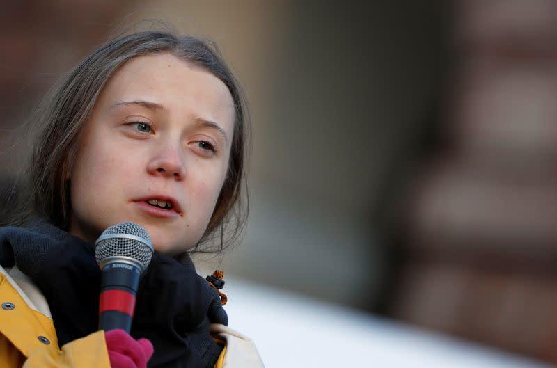 Greta Thunberg calls on Siemens to review Australia coal ...