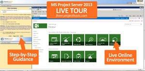 Microsoft Project Server 2013 Free Online Tours Now