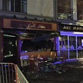 Fire sweeps through a bar in France, killing 13 people and injuring several others
