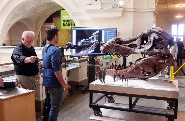 Kinect is pretty great at scanning dino bones