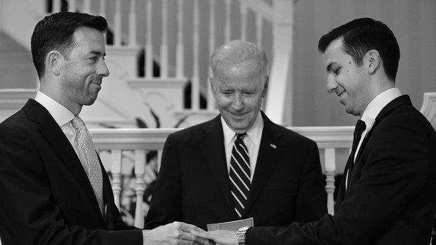 Joe Biden Officiates Same-Sex Marriage of Two White House Staffers at His Home