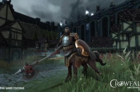 Crowfall's Legionnaire is a four-legged powerhouse