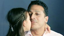 Mahesh Bhupathi and daughter, Saira, pose for 'Proud Fathers for Daughters' initiative