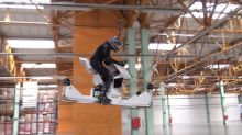 Straight Out of Sci-Fi: Hoverbike 'Surfs' Through the Air in Test